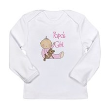 Papa's Girl Long Sleeve Infant T-Shirt
