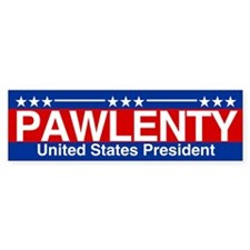 Pawlenty for President Bumper Sticker