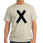The Alphabet Letter X Light T-Shirt