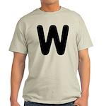 The Alphabet Letter W Light T-Shirt