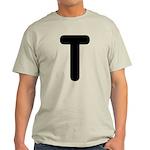 The Alphabet Letter T Light T-Shirt
