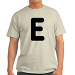 The Alphabet Letter E Light T-Shirt