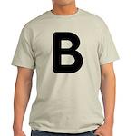 The Alphabet Letter B Light T-Shirt
