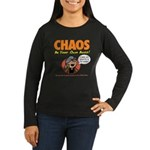 CHAOS Women's Long Sleeve Dark T-Shirt