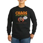 CHAOS Long Sleeve Dark T-Shirt