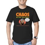 CHAOS Men's Fitted T-Shirt (dark)