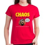 CHAOS Women's T-Shirt (red)