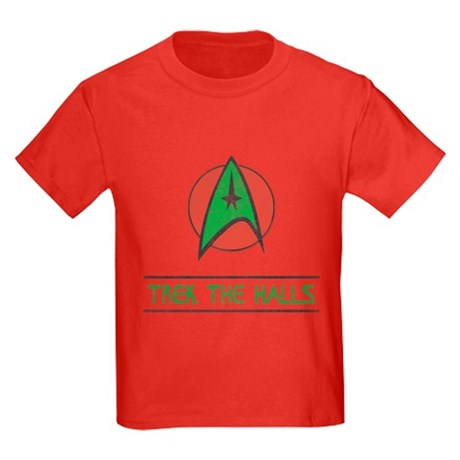 Trek The Halls Kids T-Shirt