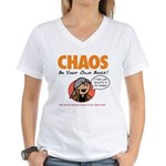 CHAOS Women's V-Neck T-Shirt
