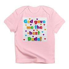 God Gave Me Best Dada Infant T-Shirt