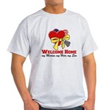 Welcome Home - My Son (Marine T-Shirt