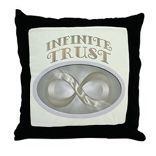 Infinite Trust Throw Pillow