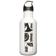 Eat Sleep Play Horn Water Bottle