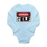 Elf with Attitude Long Sleeve Infant Bodysuit
