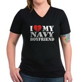 I Love My Navy Boyfriend Shirt