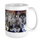 MCK Racing Siberians Faces 2 Mug