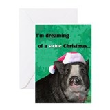 Piggy Christmas Card