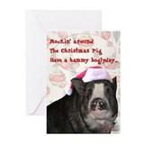 Piggy Christmas Cards (Pk of 20)