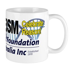 Celebrate Reason Double Helix Mug