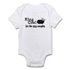 King Coal Christmas Infant Bodysuit