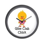 Glee Club Chick Wall Clock