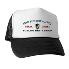 TUSLOG DET 4 Sinop Turkey Trucker Hat