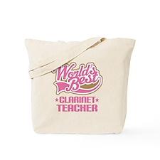 Clarinet Teacher Tote Bag