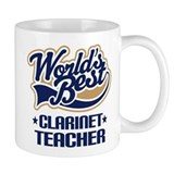 Clarinet Teacher Small Mug