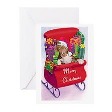Pitbull Christmas Greeting Cards (Pk of 20)