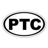 PT Cruiser Oval Decal