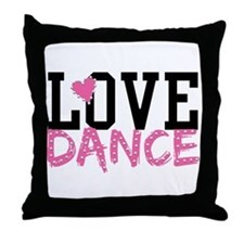 Unique Dance Throw Pillow