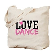 Cute Dance Tote Bag
