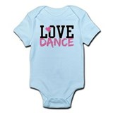 Cute Dance Infant Bodysuit