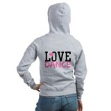 Cute Ballet Zipped Hoody