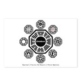 Dharma Stations Postcards (Package of 8)