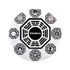 "Dharma Stations 3.5"" Button (100 pack)"