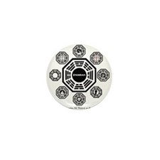 Dharma Stations Mini Button (10 pack)