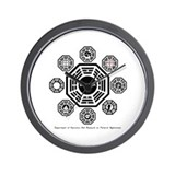 Dharma Stations Wall Clock