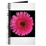 Red Gerbera Daisy Journal