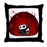 Cute Panda Throw Pillow