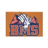 Blue Mountain State Rectangle Magnet