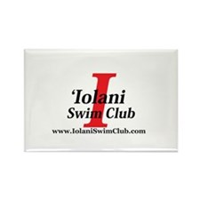 Cute Swim club Rectangle Magnet
