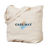 Cape May NJ - Seashells Design Tote Bag