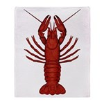 Crawfish Throw Blanket