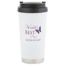 World's Best Sister-In-Law Ceramic Travel Mug