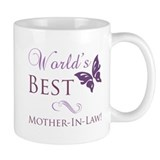 World's Best Mother-In-Law Small Mug