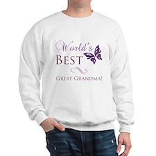 World's Best Great Grandma Sweatshirt