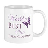 World's Best Great Grandma Small Mug