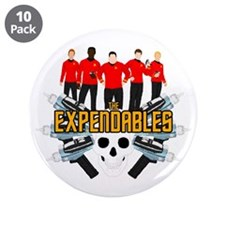 "Cute Expendable 3.5"" Button (10 pack)"