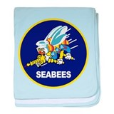 Unique Seabee baby blanket